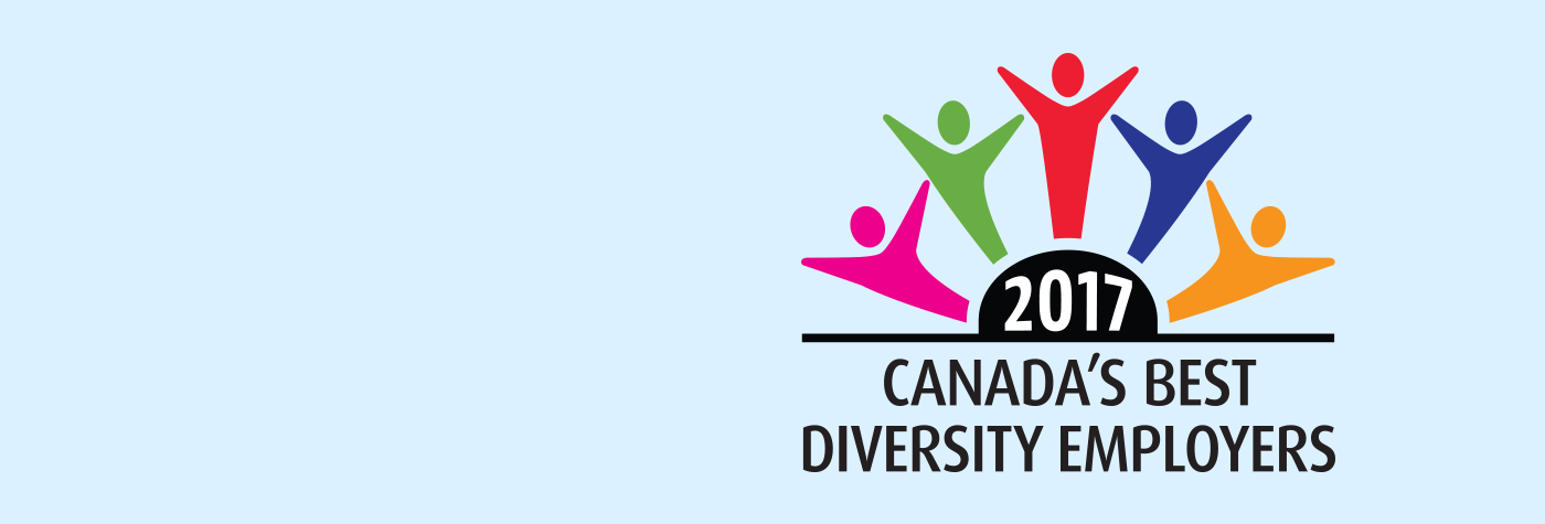 Main header banner linking to news piece on CAS of Toronto selected as one of the best diversity employer.