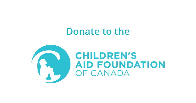 Image linking to the Children's Aid Foundation of Canada website's Donate section